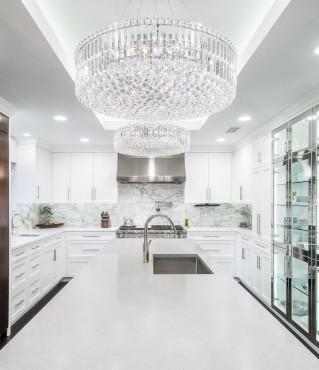 Glamourous Award Winning Kitchen